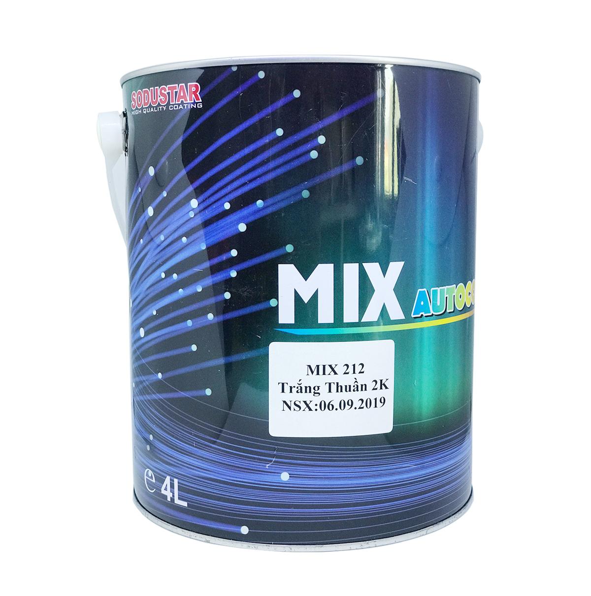 Dòng sơn màu 2 thành phần (2K) - MIX 2xx